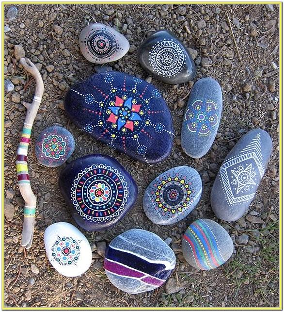 Pretty Rock Painting Ideas