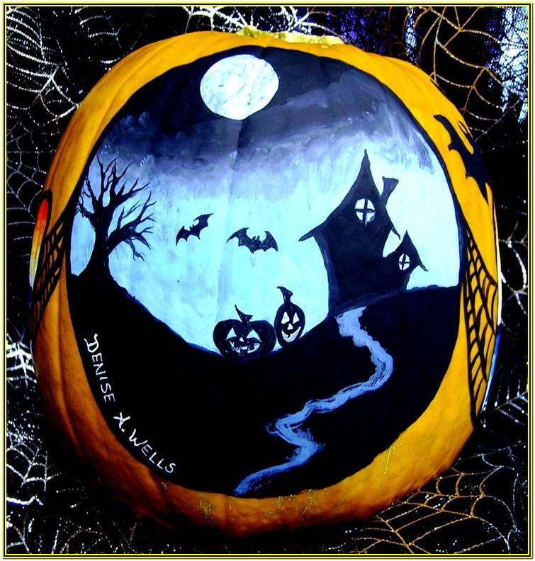 Pumpkin Painting Ideas For Halloween