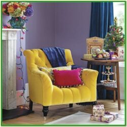 Purple And Yellow Living Room Decor