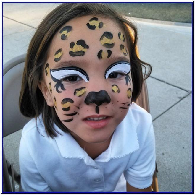 Quick And Easy Halloween Face Paint Ideas