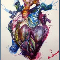 Real Heart Painting Ideas