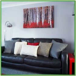 Red Black And Grey Living Room Decor