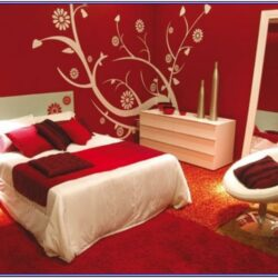 Red Black And White Bedroom Paint Ideas