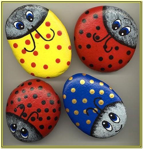 Rock Painting Ideas Ladybug