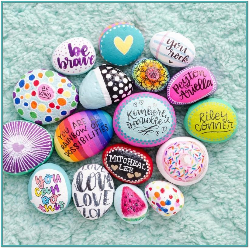 Rock Painting Inspiration Ideas