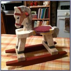 Rocking Horse Painting Ideas