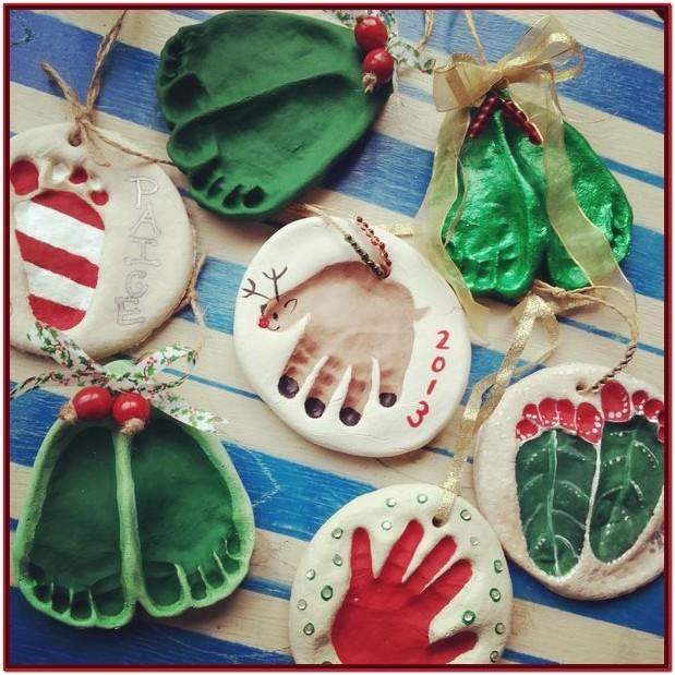 Salt Dough Ornament Painting Ideas