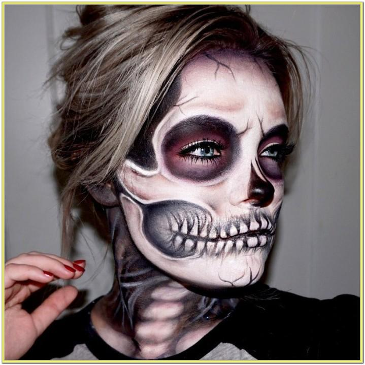 Scary Face Paint Ideas For Adults