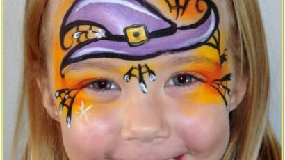 Scary Witch Face Paint Ideas