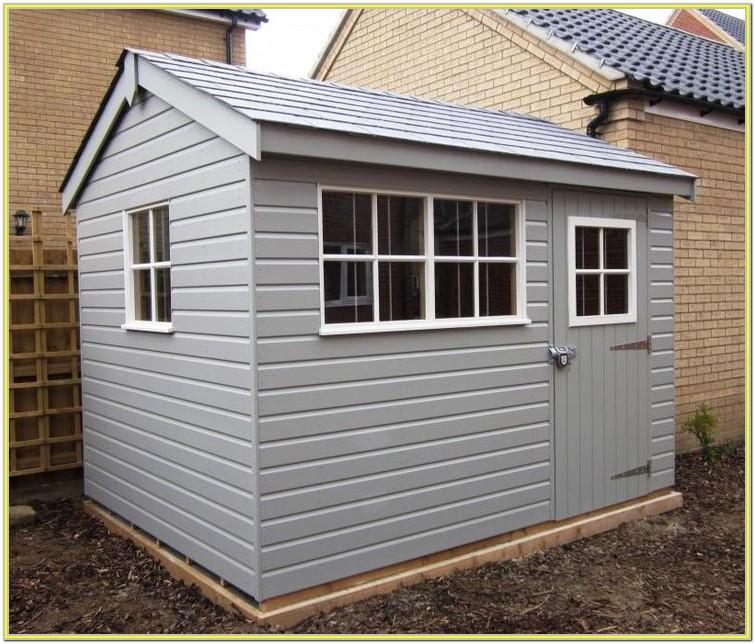 shed paint ideas uk