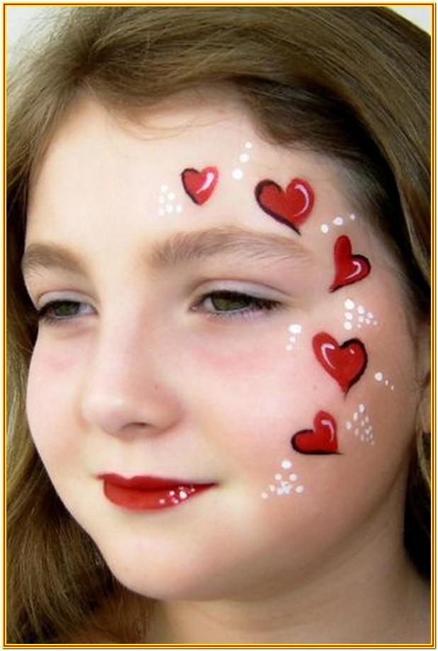 Simple Cheek Face Painting Ideas