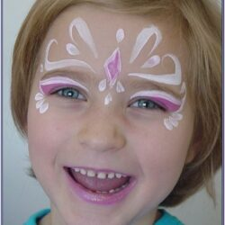 Simple Fairy Face Painting Ideas