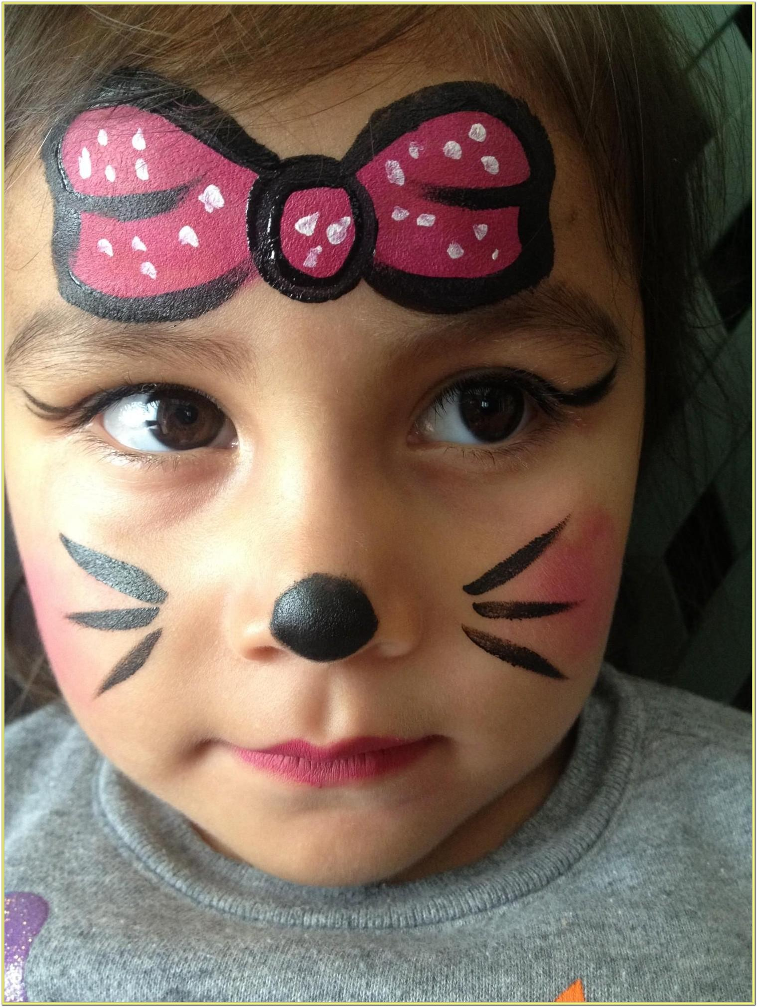 Simple Small Face Painting Ideas
