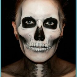 Skull Face Painting Ideas For Halloween