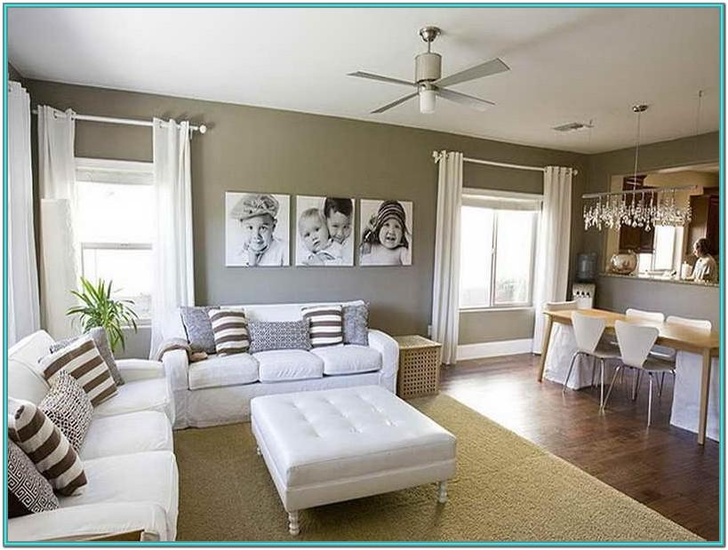 Small Apartment Living Room Paint Ideas