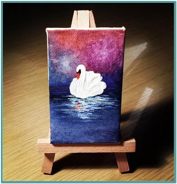 Small Canvas Painting Ideas