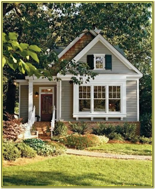 Small House Color Schemes Exterior
