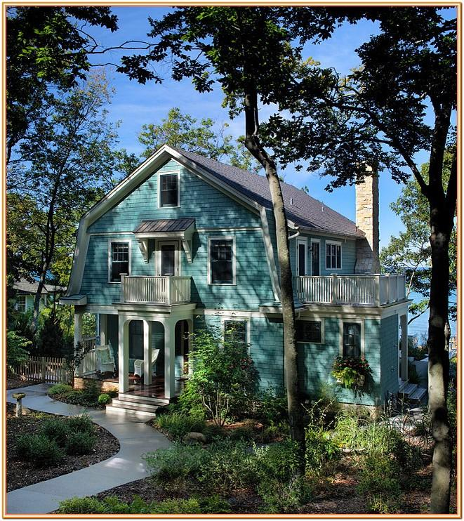 small house exterior color ideas