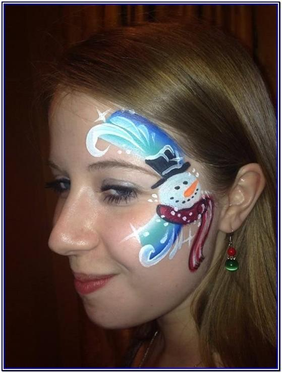 Snow White Face Painting Ideas