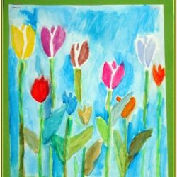 Spring Painting Ideas For Toddlers