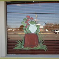 Spring Window Painting Ideas