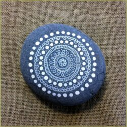 Stone Painting Ideas Mandala