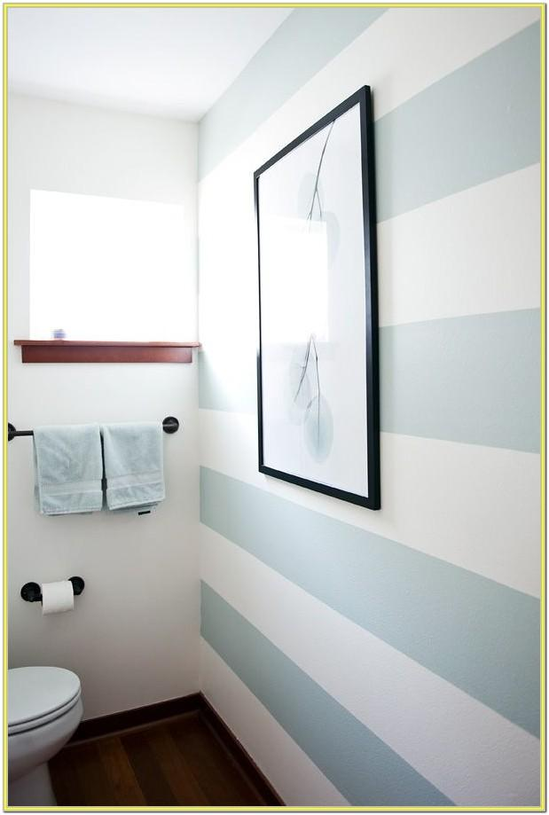 Striped Bathroom Paint Ideas