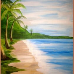 Summer Painting Ideas For Beginners