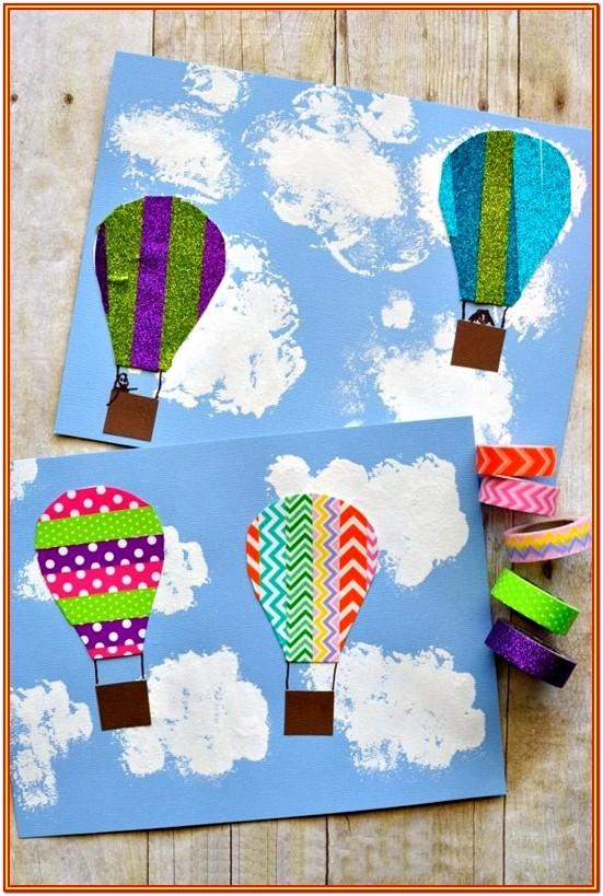 Summer Painting Ideas For Preschoolers