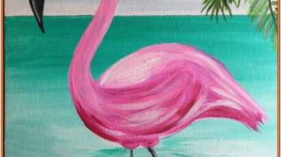 Summer Painting Ideas Step By Step