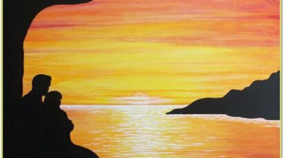 Sunset Painting Ideas Easy
