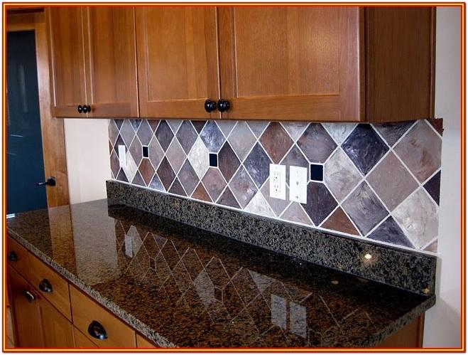 Tile Painting Ideas Kitchen