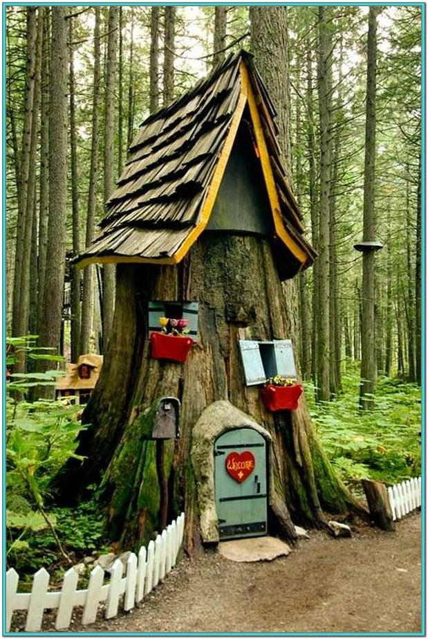 Tree Stump Painting Ideas