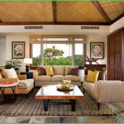 Tropical Living Room Decorating Ideas