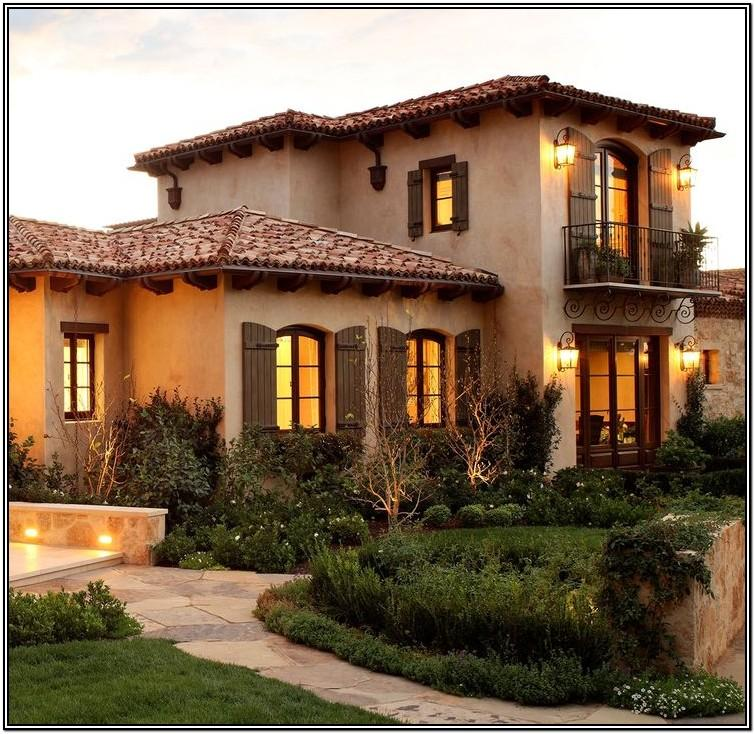 Tuscan Yellow Exterior Paint Colors