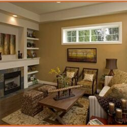 Two Tone Paint Ideas For Living Room