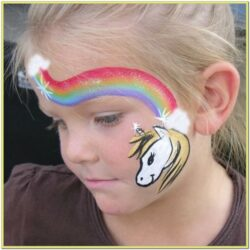 Unicorn Face Paint Colors