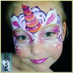 Unicorn Face Paint Ideas Easy