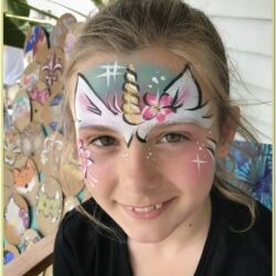 Unicorn Face Paint Ideas For Halloween