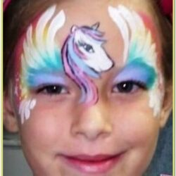 Unicorn Face Paint Images