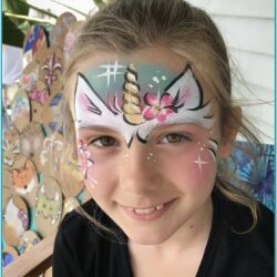 Unicorn Face Painting Ideas