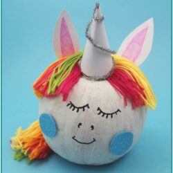 Unicorn Pumpkin Painting Ideas
