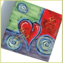 Valentines Day Acrylic Painting Ideas