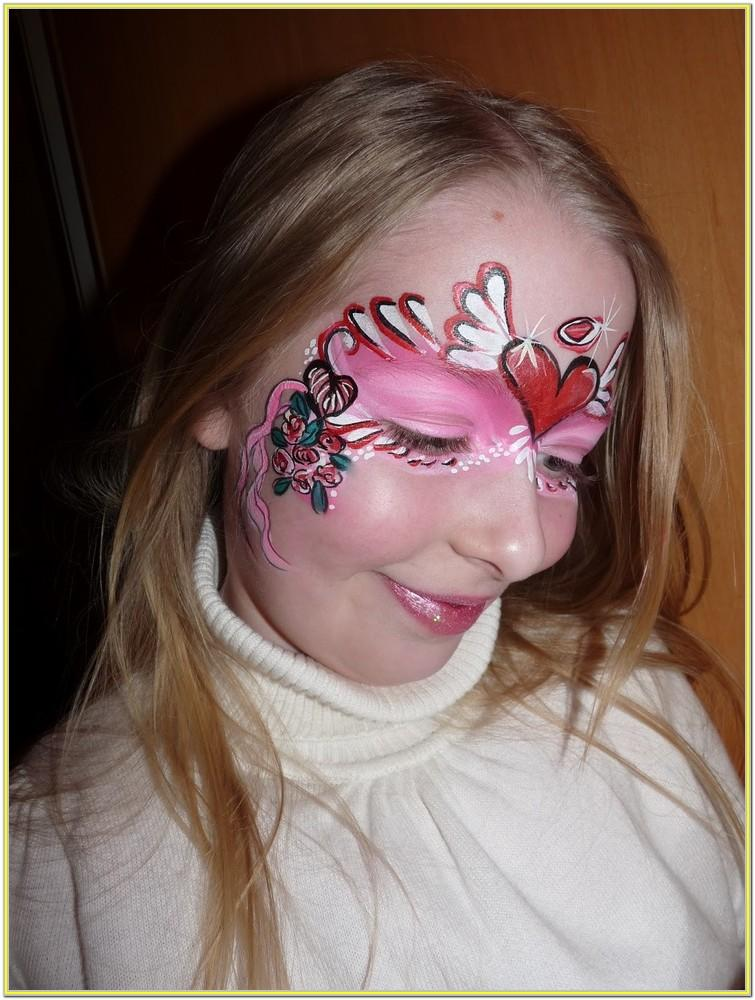 Valentine's Day Face Painting Ideas