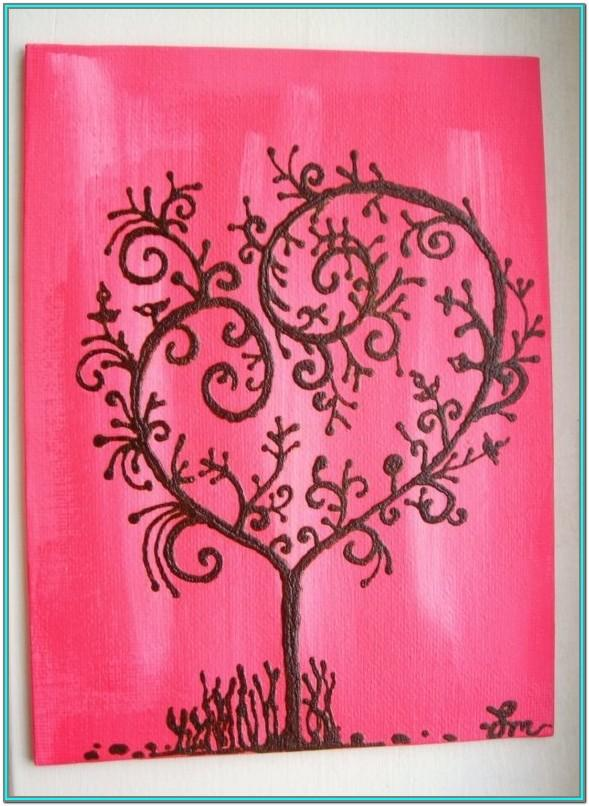 Valentine's Day Painting Ideas