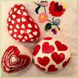 Valentines Day Rock Painting Ideas