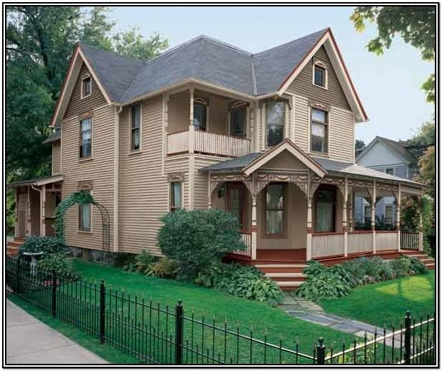 Victorian Exterior Color Schemes