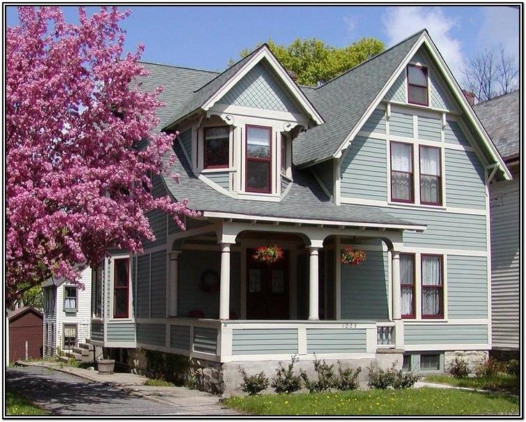 Victorian Home Color Combinations