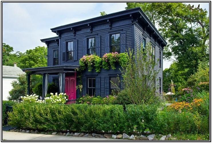 Victorian Home Exterior Color Schemes