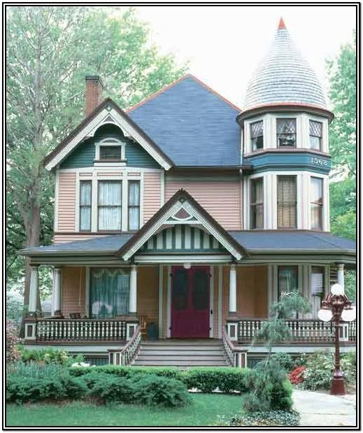 Victorian House Color Schemes